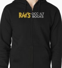 Ray's Occult Books Zipped Hoodie