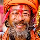 Holy Man Nepal by Andrew Kalpage