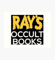 Ray's Occult Books Art Print