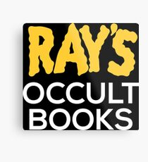 Ray's Occult Books Metal Print