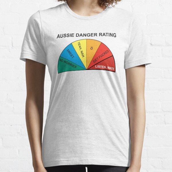 Australian Danger Rating Essential T-Shirt