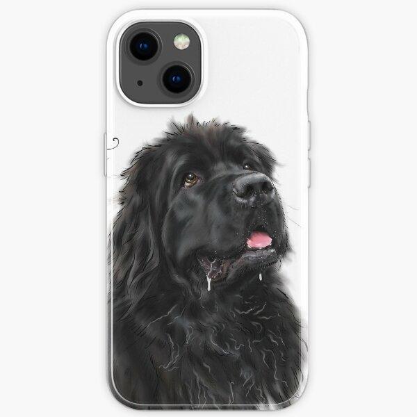 The Noble Newfoundland Dog iPhone Soft Case