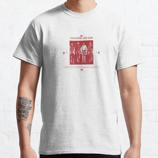 Hablando de cabezas Más canciones sobre edificios y comida Camiseta clásica