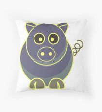 Oink oink Throw Pillow