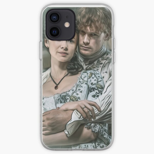 Lovers in the mirrow iPhone Soft Case