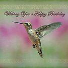 Happy Birthday Hummingbird by Bonnie T.  Barry