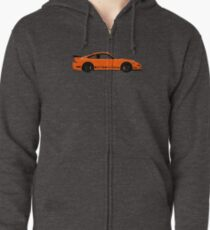 Pumpkin Racer – 997 GT3 RS Inspired Zipped Hoodie