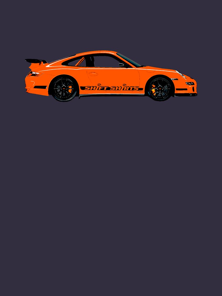 Pumpkin Racer – 997 GT3 RS Inspired by ShiftShirts