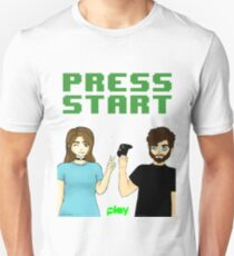 Press Start! | MBS Play Official Product Unisex T-Shirt