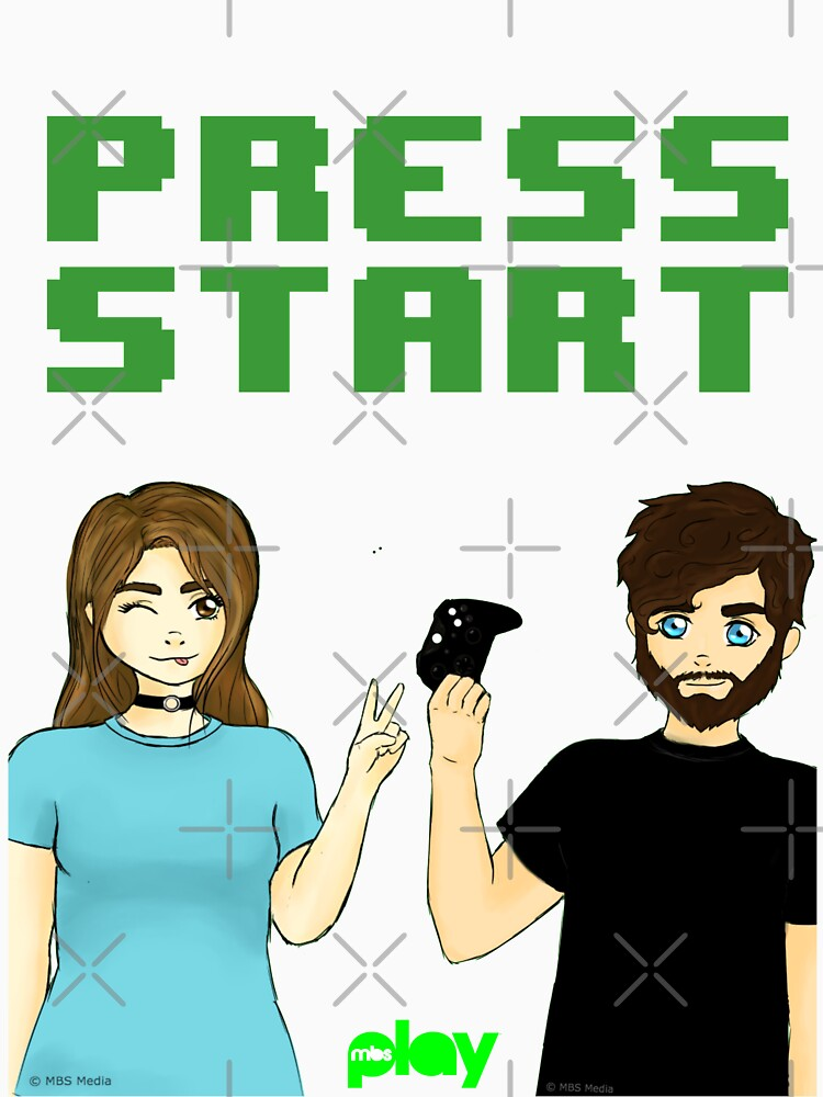 Press Start! | MBS Play Official Product by mbsauthentic