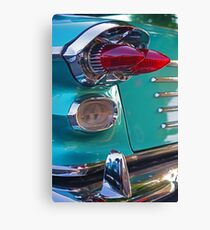Double Bullet Tail Lights Canvas Print