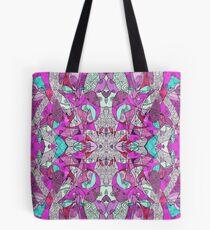 Bohemian Serenity Doodle Tote Bag
