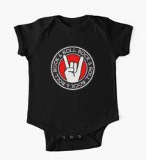 ROCK & ROLL Baby Body Kurzarm