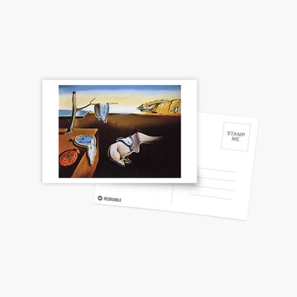 THE PERSISTENCE OF MEMORY - SALVADOR DALI  Postcard
