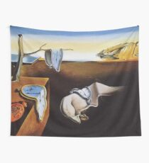 THE PERSISTENCE OF MEMORY - SALVADOR DALI  Wall Tapestry