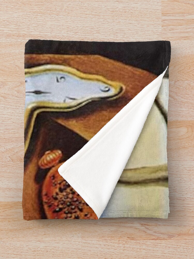 Alternate view of THE PERSISTENCE OF MEMORY - SALVADOR DALI  Throw Blanket