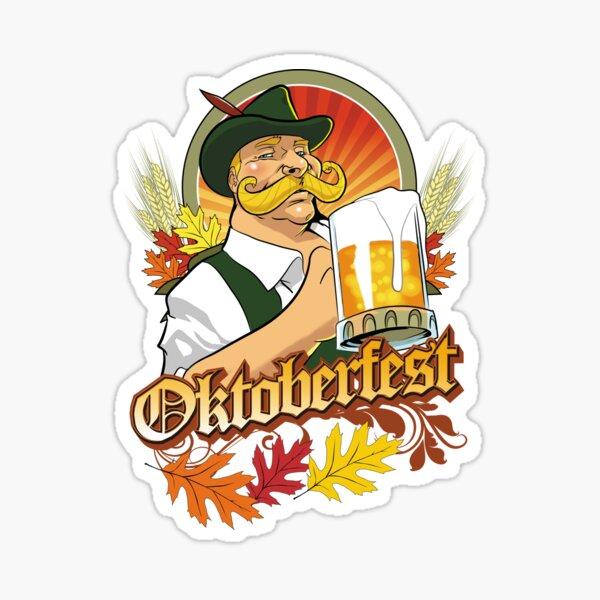 Oktoberfest Beer Festival  Sticker