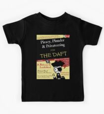 Piracy for the Daft Kids Clothes