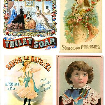 Soap Advertisements Circa 1800s by ExpressingSelf