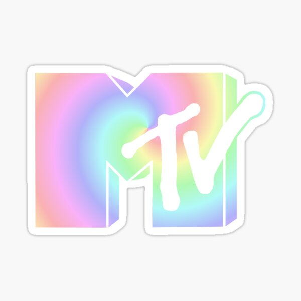 Logotipo de MTV Pegatina