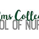Elms College School of Nursing by Emily Cutter