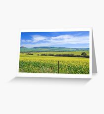 Pull Over Greeting Card