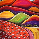 Pastels - Flinders Trails by Georgie Sharp