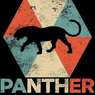 Vintage Polygon Panther by Distrill