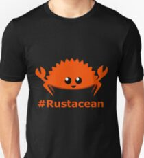 Rust Language / Lang Unofficial Mascot - Ferris the crab Rustacean Available on +38 products  Slim Fit T-Shirt