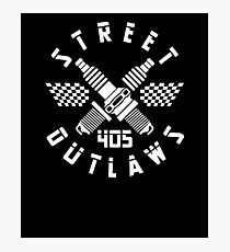 405 Street Outlaws V2 Photographic Print