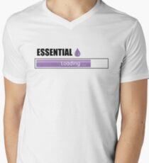 Essential Oils Lover T-shirt Men's V-Neck T-Shirt
