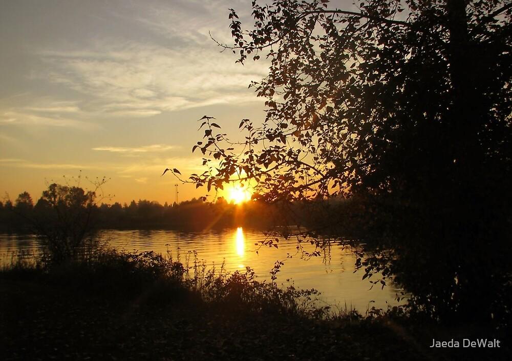 Setting Sun by Jaeda DeWalt