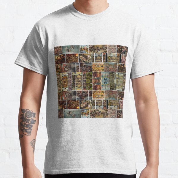 #Hieronymus, #Bosch, #HieronymusBosch, #Paintings, Fantastic Landscapes, Heavenly Powers, Classic T-Shirt