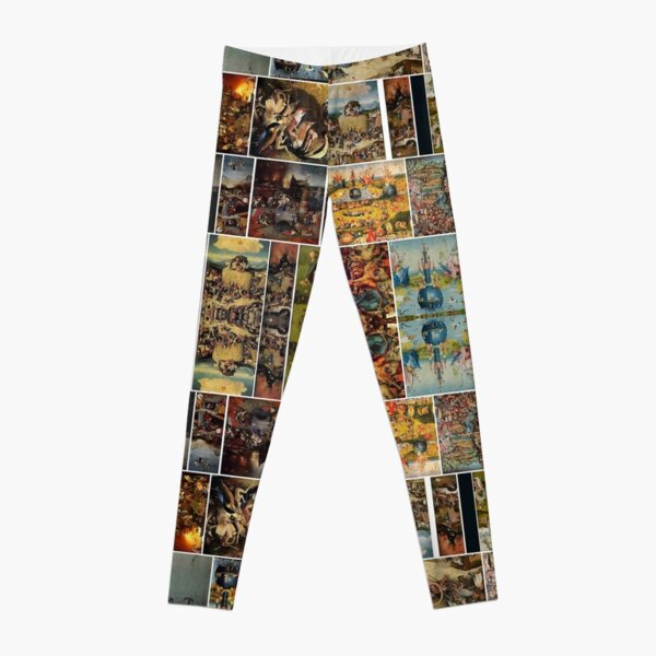 #Hieronymus, #Bosch, #HieronymusBosch, #Paintings, Fantastic Landscapes, Heavenly Powers, Leggings
