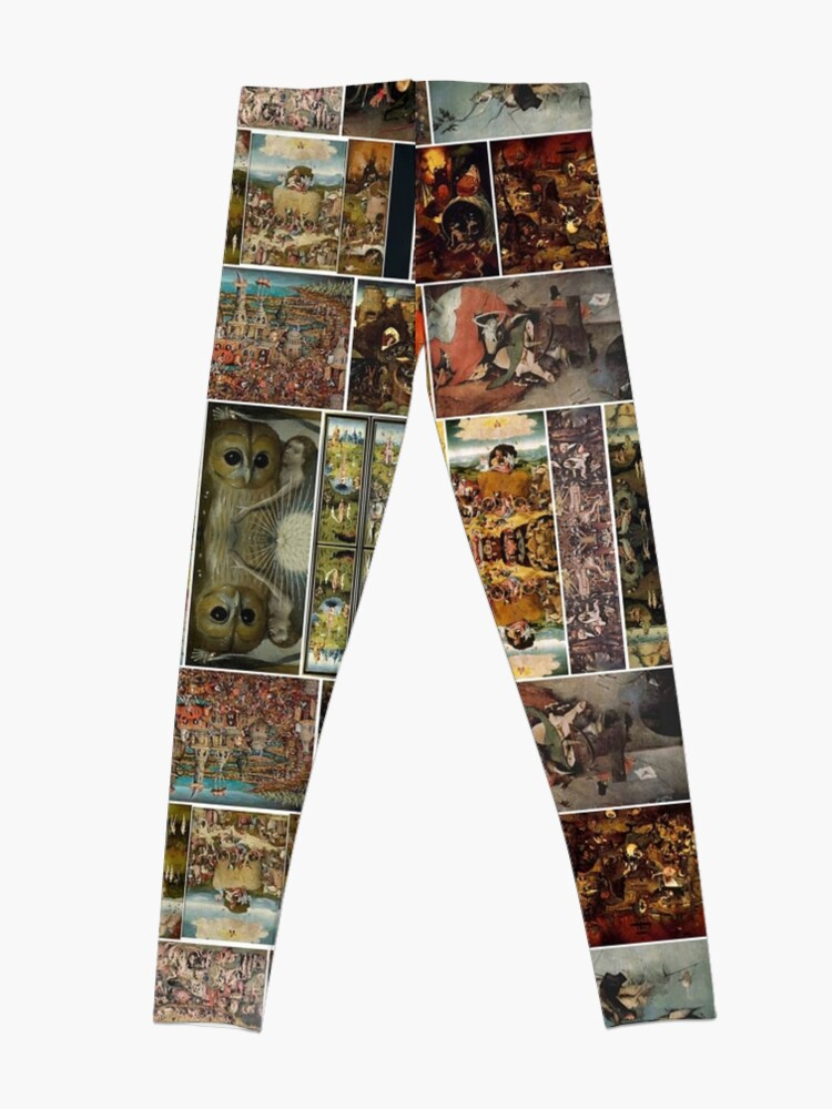 Alternate view of #Hieronymus, #Bosch, #HieronymusBosch, #Paintings, Fantastic Landscapes, Heavenly Powers, Leggings