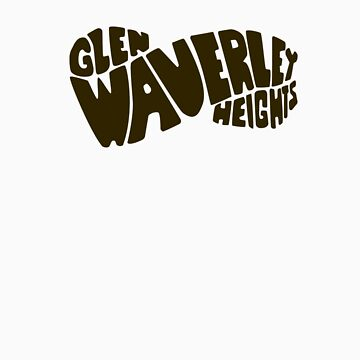 Glen Waverley Heights Primary School t-shirt by blackridinghd