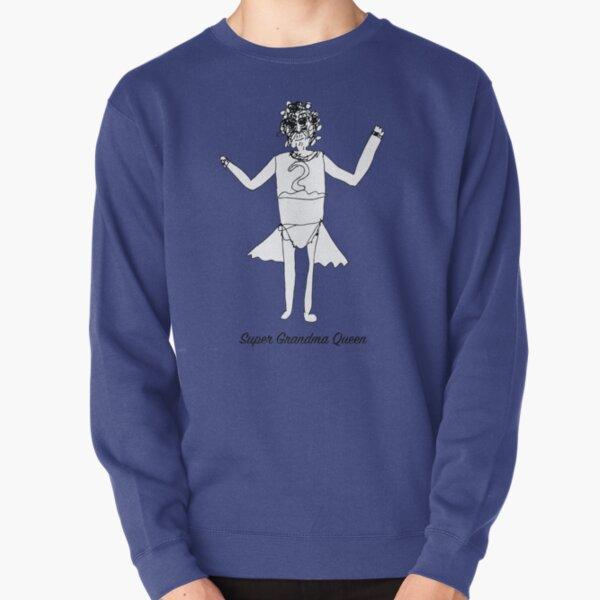 Super Grandma Queen Pullover Sweatshirt