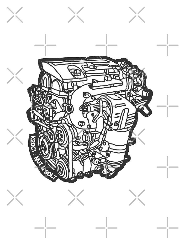 Honda Civic Type R FK2 K20C1 Engine by nutandbolt