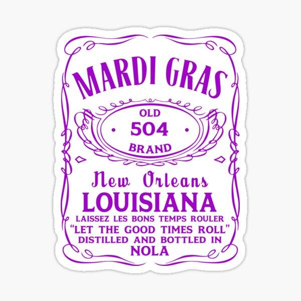 Mardi Gras 2019 Sticker