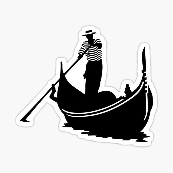 Gondolier Sticker
