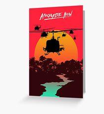 Apocalypse Now Greeting Card