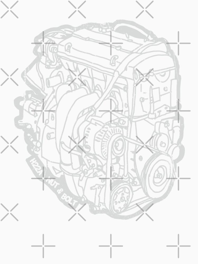Prelude H22 Engine