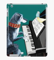 Piano lesson (Doggy Art) iPad Case/Skin