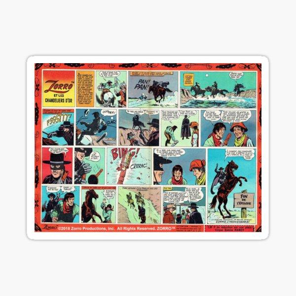 Le Journal de Zorro™ 679a Sticker
