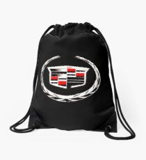 cadillac vintage car Drawstring Bag