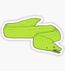 Green Moray Eel Sticker
