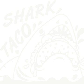 Shark A Taco by Fibr