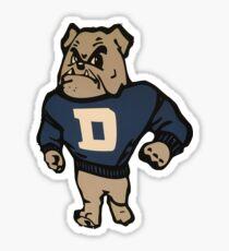 Drake University Bulldog Sticker
