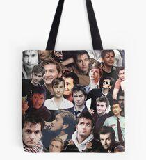 David Tennant Collage Tote Bag