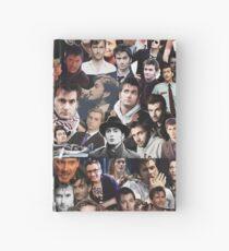 David Tennant Collage Hardcover Journal